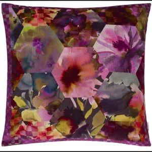 Designer's Guild Velvet Pillow Kashmiri Ma…
